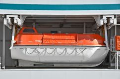 Safety lifeboat Royalty Free Stock Photography