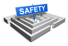 Safety Lifestyle Concept Royalty Free Stock Images