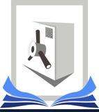 Safety locker vector illustration