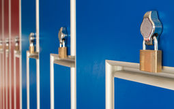 Safety locks Stock Photos
