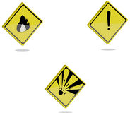 Safety logo Stock Photo