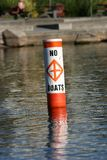 Safety marker Royalty Free Stock Photography