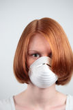 Safety Mask Stock Photography