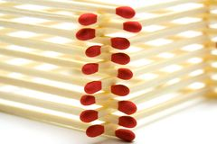 Safety matches Stock Image
