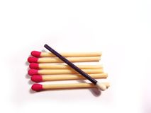 Safety matches Royalty Free Stock Photography