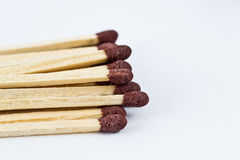 Safety matches. In studio environment stock images