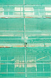 Safety net over scaffolding. Stock Photography