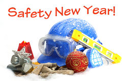 Safety New Year Royalty Free Stock Photos