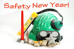Safety New Year Royalty Free Stock Images