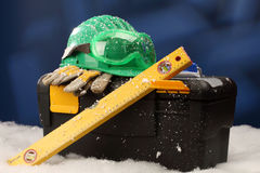 Safety New Year Stock Photo
