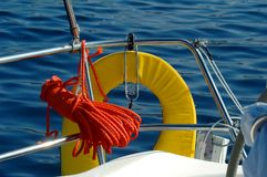 Safety On Sea Royalty Free Stock Photo