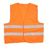 Safety orange vest. Stock Images