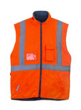 Safety orange vest Royalty Free Stock Photography