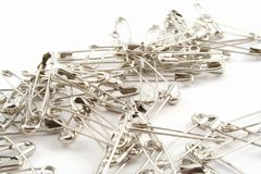 Safety Pin Royalty Free Stock Photo
