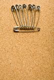Safety pin Royalty Free Stock Photography