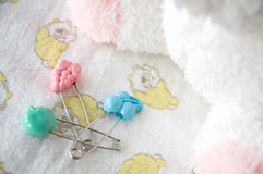 Safety pin Stock Images