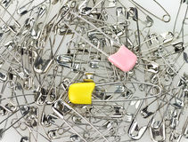 Safety Pin Background Royalty Free Stock Image