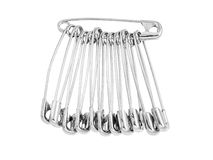 Safety pin isolated Royalty Free Stock Photography