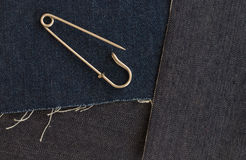 Safety pin Stock Image