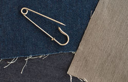 Safety pin Stock Photography