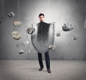 Safety and protection in business Stock Photos