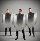 Safety and protection in business Royalty Free Stock Image