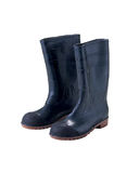 Safety pvc boot Royalty Free Stock Photos