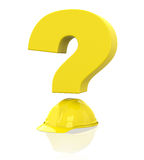 Safety questions Stock Images