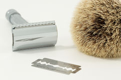 Safety razor Stock Photo