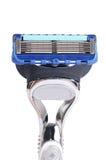 Safety razor  isolated on white background Royalty Free Stock Photos