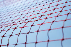 Safety red net. Against the blue sky Royalty Free Stock Photography
