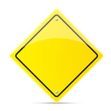 Safety road sign Stock Images