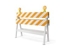 Safety roadblock Stock Photography