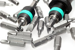 Safety Screwdriver Bits With Screwdriver 6 Stock Images