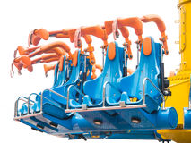 Safety seat. Of amusement park ride Stock Image