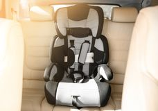 Safety seat for baby Stock Photo