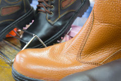 Safety shoe Stock Photography