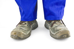 Safety shoes Stock Photo