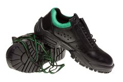 Safety shoes. Stock Image