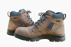 Safety shoes Stock Images
