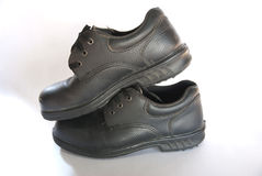Safety shoes for workers company Royalty Free Stock Images