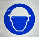 Safety signs. Protective wear and safety at work signs Stock Photo