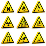 Safety Signs - Set01 Stock Photos