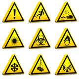 Safety Signs - Set02 Stock Images