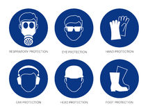 safety signs Stock Photos
