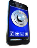 Safety and smartphone Royalty Free Stock Images