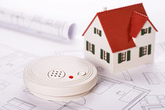 Safety by smoke detectors Royalty Free Stock Photos