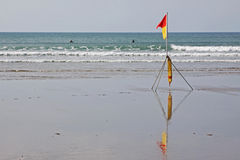 Safety in the Surf Royalty Free Stock Images