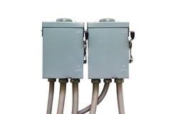 Safety switch box Stock Image