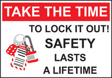 Safety Take The Time in Vector Stock Photos
